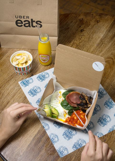 Uber Eats will deliver you a Christmas Party hangover fry-up