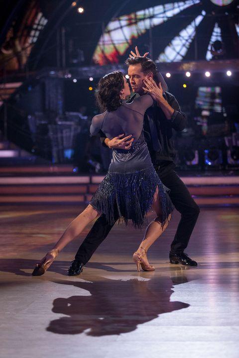 Joe McFadden and Katya Jones on Strictly