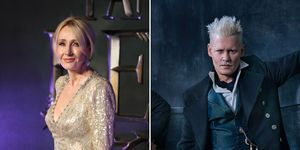 J K Rowling, Johnny Depp, Gellert Grindelwald, Fantastic Beasts: The Crimes of Grindelwald