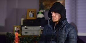 Max Branning threatens Ian Beale in EastEnders