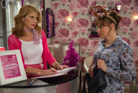 Bernice White feels guilty about deceiving Dee Dee and Lydia in Emmerdale
