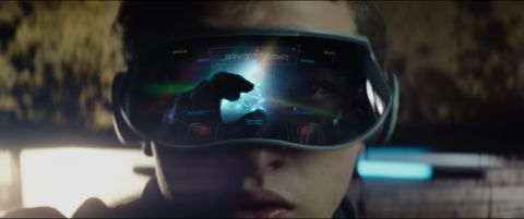 stephen spielberg directs this adap of ernest cline's bestseller set in a future obsessed with the '80s tye sheridan and olivia cooke star