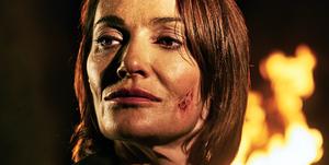 Sarah Parish in Bancroft episode 1