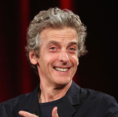 Doctor Who Christmas Special 2019 Release Date.Doctor Who S Peter Capaldi And Mark Gatiss For Bbc Xmas Special