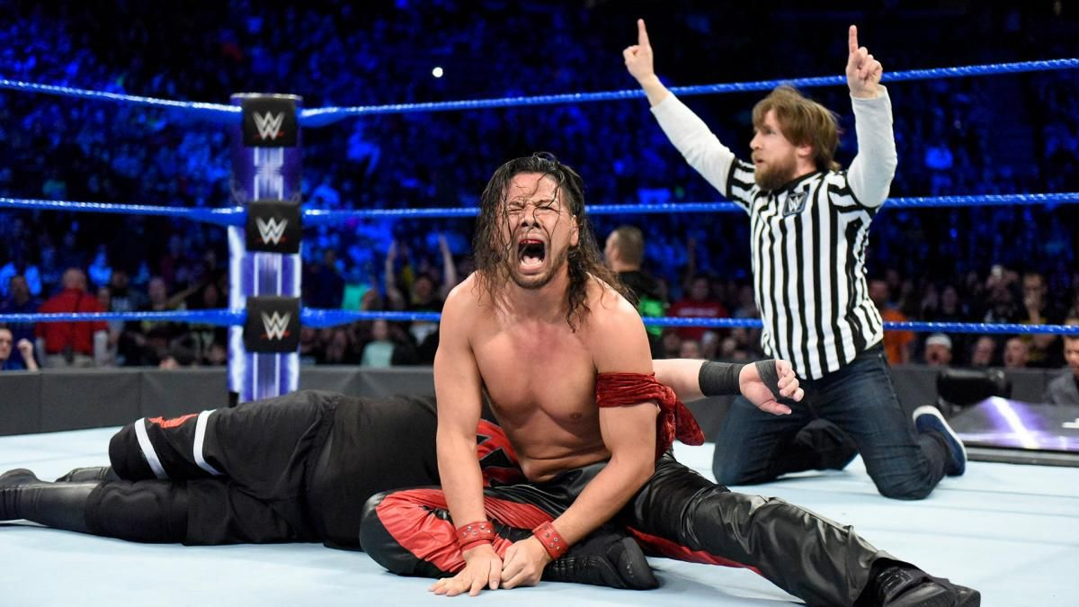 quality design 5a906 eb43e WWE SmackDown Live results  4 things we learned as Daniel Bryan gets back  in the ring for action