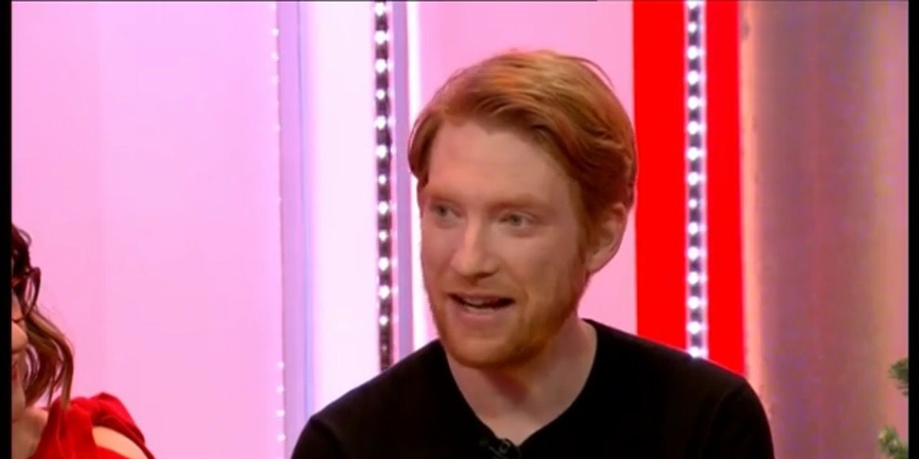 Domhnall Gleeson on The One Show 12/13