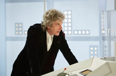 Peter Capaldi in 'Doctor Who: Twice Upon a Time'