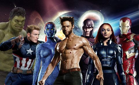 x men and avengers