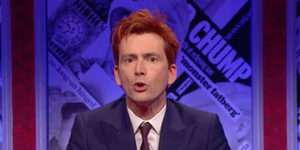 David Tennant ginger on Have I Got News for You