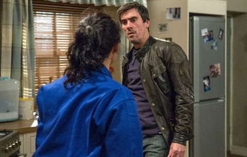 Cain Dingle confesses his feelings for Moira in Emmerdale