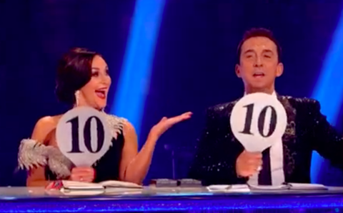 Shirley Ballas and Bruno Tonioli give 10s on Strictly Come Dancing 2017 final