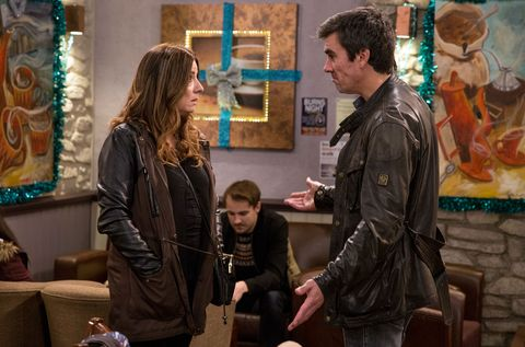 Harriet Finch and Cain Dingle's relationship comes under strain in Emmerdale