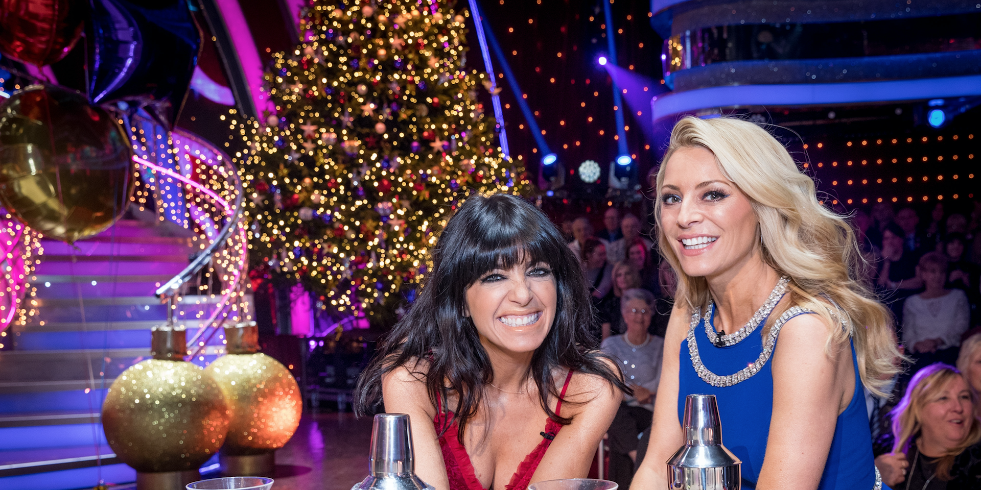 Strictly Come Dancing Christmas Special 2017: Claudia Winkleman, Tess Daly