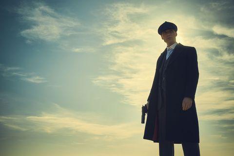 Cillian Murphy as Tommy Shelby in Peaky Blinders season 4 finale