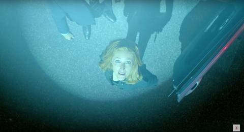 Gillian Anderson in The X-Files season 11