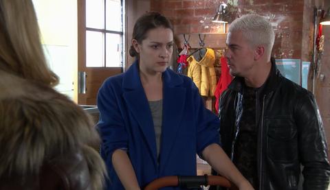Sienna Blake and Joel Dexter grow closer in Hollyoaks