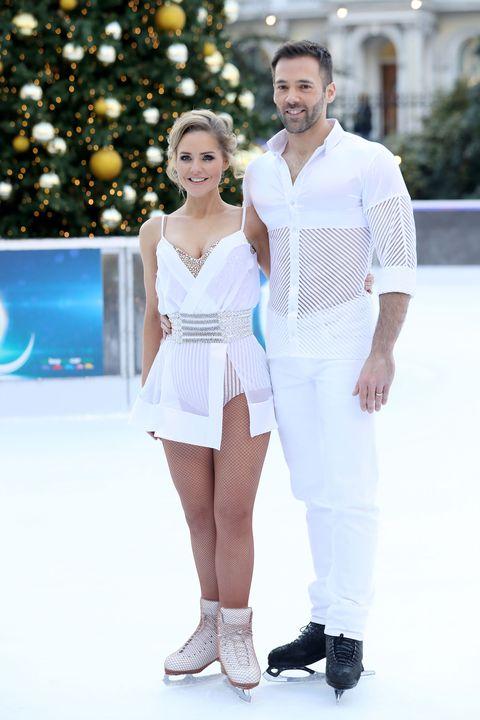 White, Fashion, Product, Beauty, Recreation, Dress, Event, Smile, Fashion design, Ice skating,