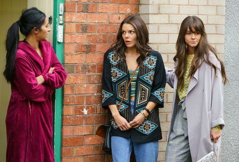 Kate Connor and Sophie Webster revisit their romantic spark in Coronation Street