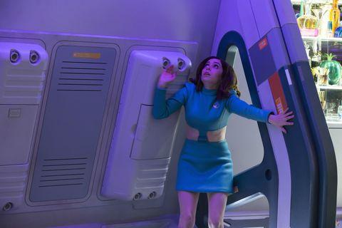Cristin Milioti in Black Mirror season 4 'USS Callister'