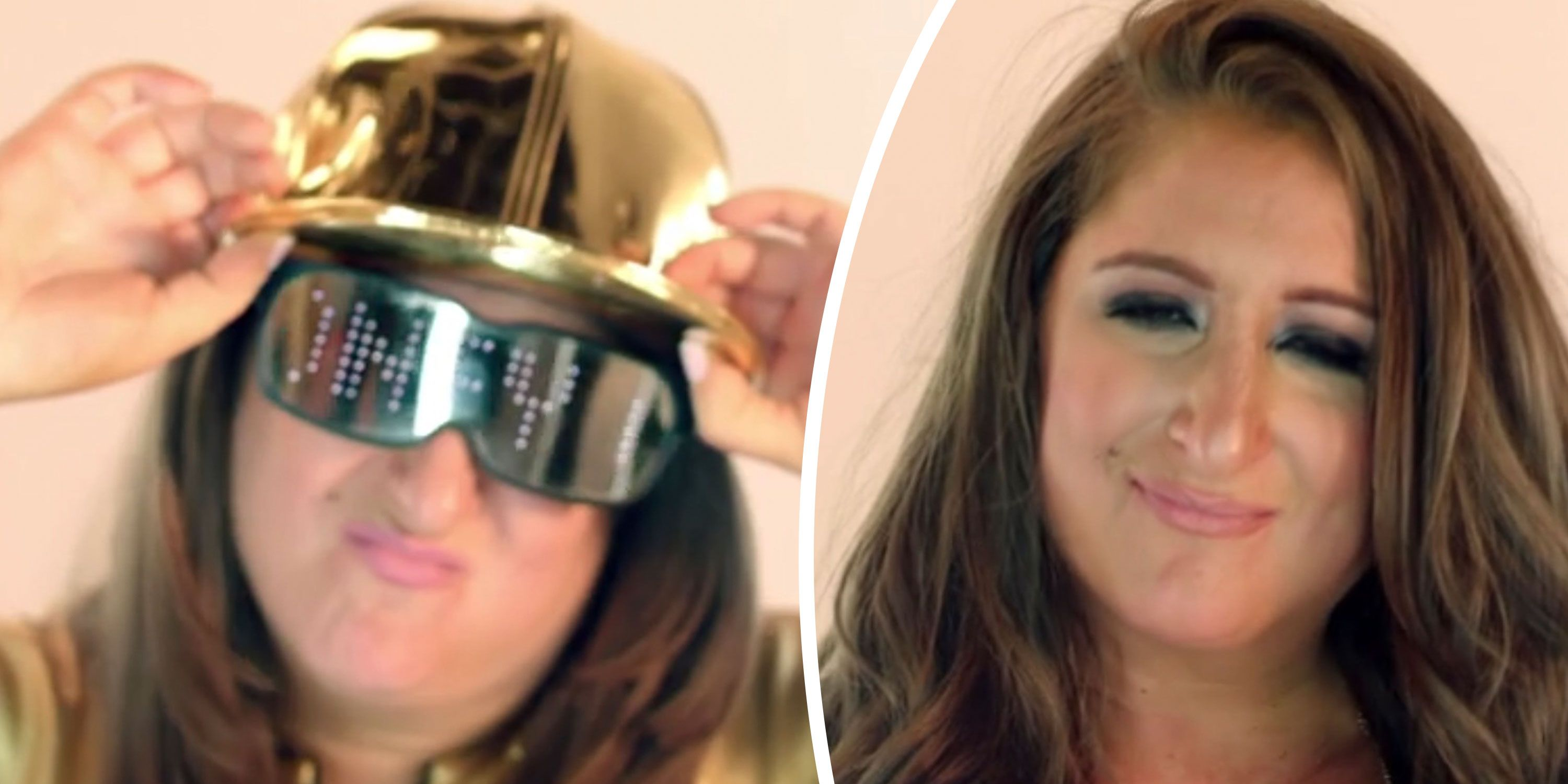 Honey G, before and after makeover, new look on Celebrity 100% Hotter