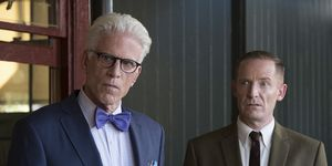 the good place, ted danson, marc evan jackson