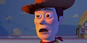 Woody Pride in Toy Story