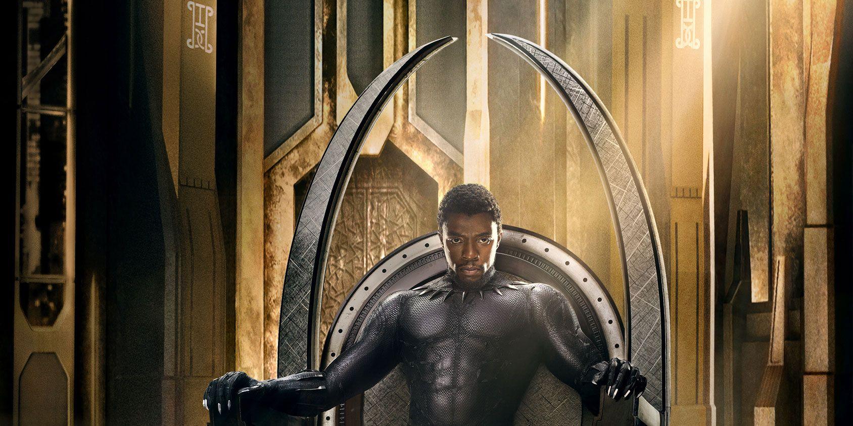Black Panther poster Huey P Newton homage