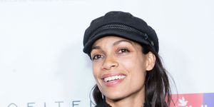 Rosario Dawson arrives for the Childhelp Hosts An Evening Celebrating Hollywood Heroes at Riviera 31
