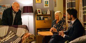 Pat Phelan accuses Eileen of disloyalty in Coronation Street