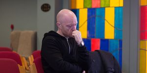 Max Branning pays another visit to the hospital chapel in EastEnders