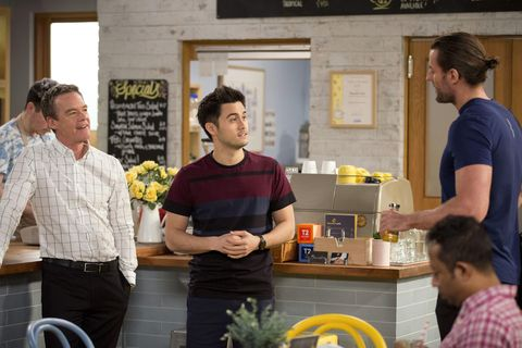 David Tanaka makes a discovery about Aaron Brennan and Rory in Neighbours