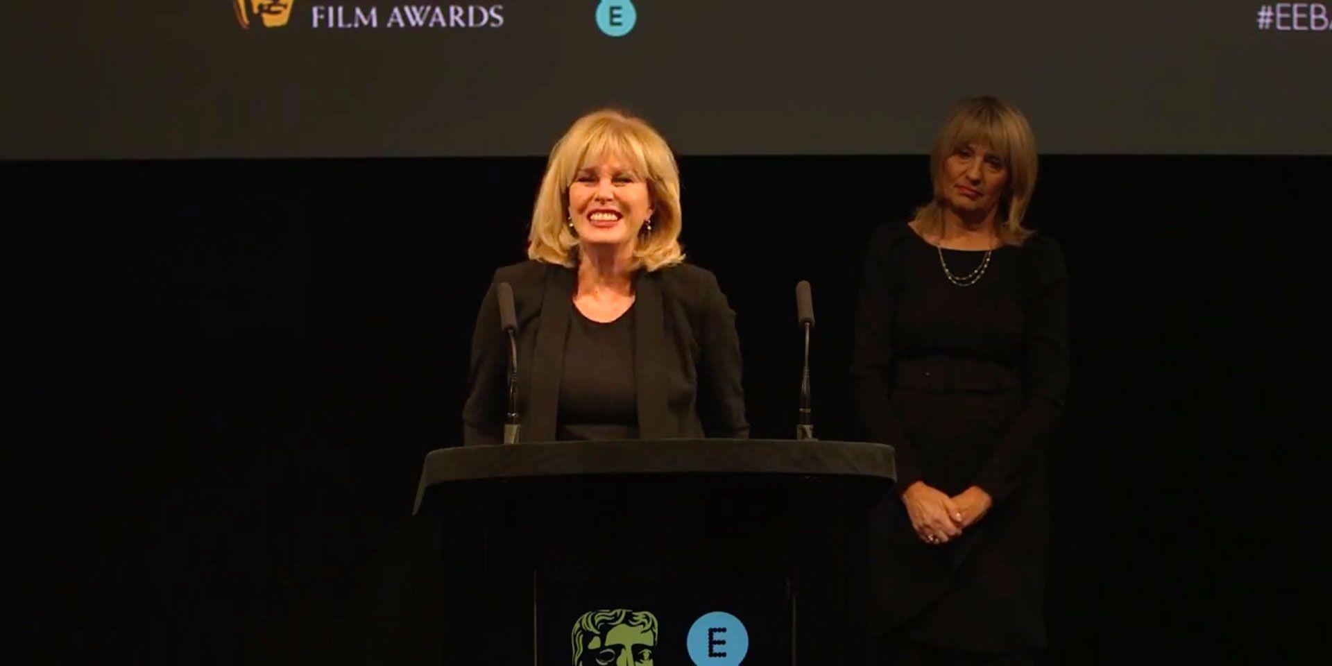 Joanna Lumley, announced as 2018 BAFTA Award host