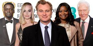 BAFTA Awards 2018 nominations, Daniel Kaluuya, Margot Robbie, Christopher Nolan, Octavia Spencer, Christopher Plummer