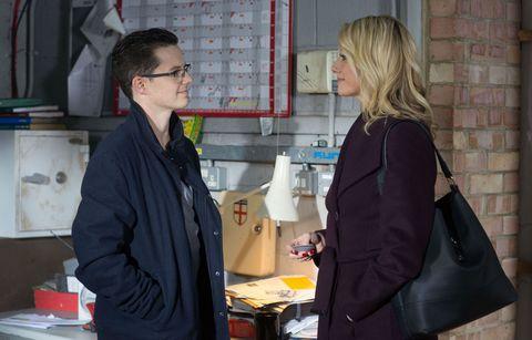Ben Mitchell meets Mel Owen in EastEnders
