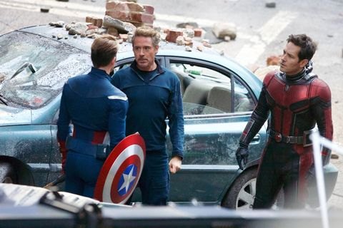 Avengers 4 sees Tony Stark go blonde in bizarre new look