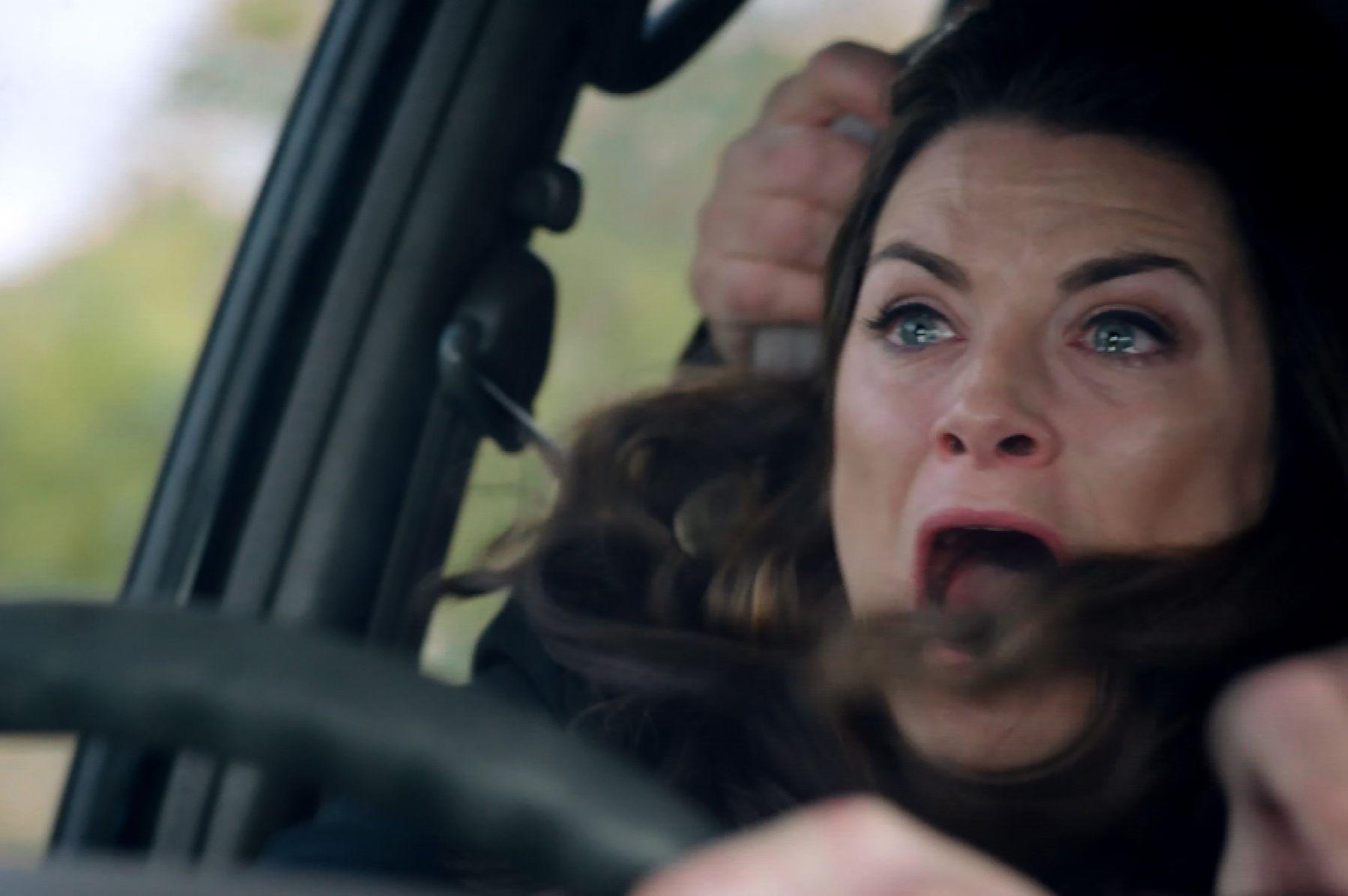 Chrissie White in the Emmerdale crash