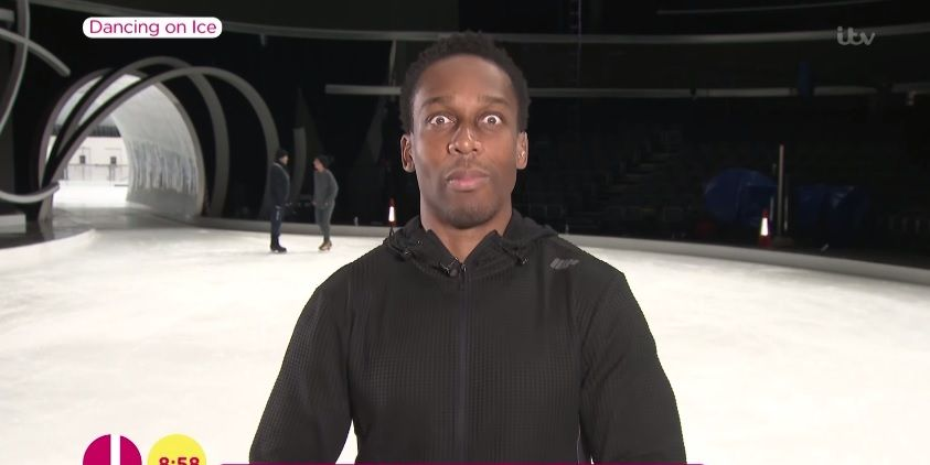 Dancing on Ice's Lemar on Lorraine