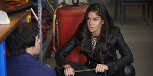 Willow Harris holds Justin Morgan captive in Home and Away