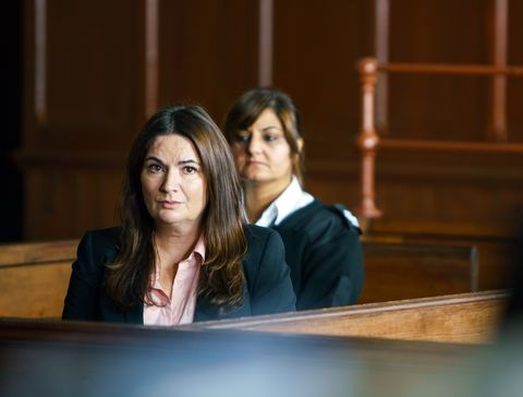 Anna Windass in court in Coronation Street
