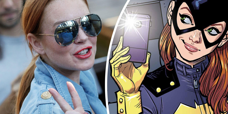 Lindsay Lohan, Batgirl, DC Comics