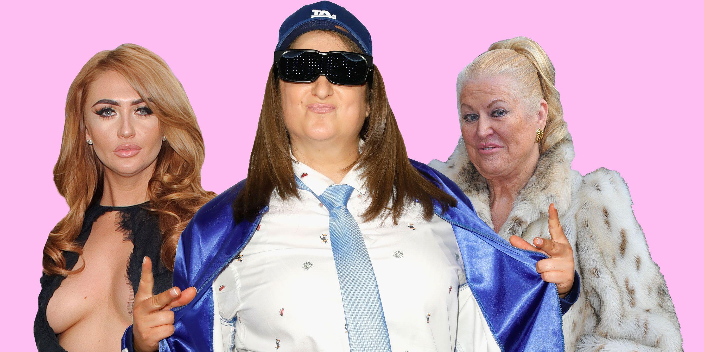 PHOTOSHOP, Celebrity 100% Hotter makeovers, Charlotte Dawson, Honey G, Kim Woodburn