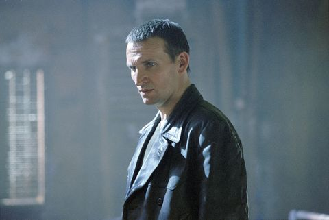 christopher eccleston as the ninth doctor in 'doctor who'
