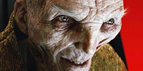 Snoke, Star Wars: The Last Jedi