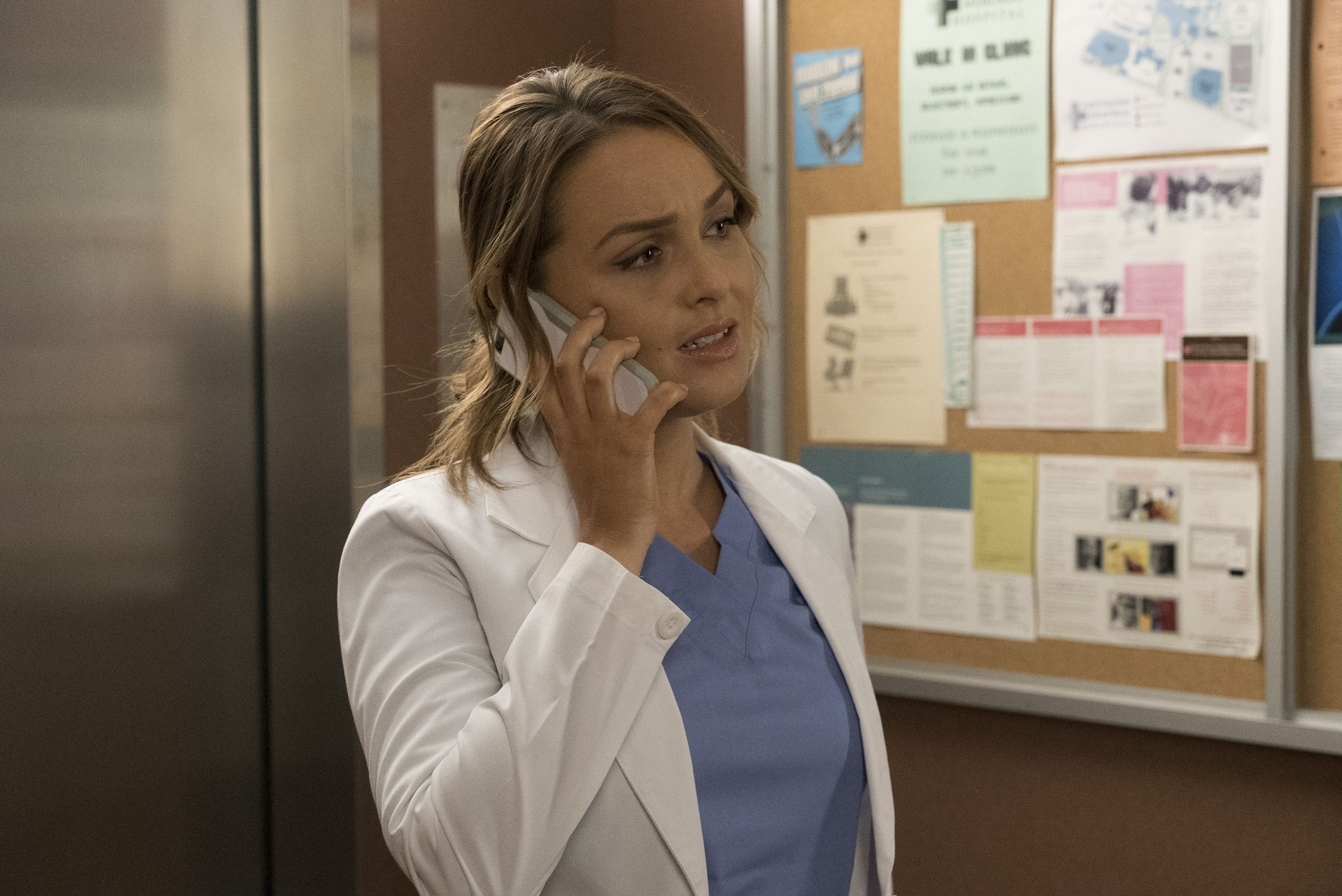 Camilla Luddington in Grey's Anatomy season 14 episode 9