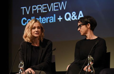 Carey Mulligan and S. J. Clarkson attend a special screening and Q&A for 'Collateral'