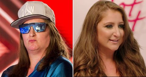 """<p><a href=\http://www.digitalspy.com/tv/the-x-factor/news/a846719/the-x-factor-honey-g-100-percent-hotter-before-and-after-transformation-pictures/\"""" data-tracking-id=\""""recirc-text-link\"""">Fans literally did not recognise <em data-redactor-tag=\""""em\"""" data-verified=\""""redactor\"""">X Factor</em>'s most famous rapper</a> after the <i data-redactor-tag=\""""i\"""">Celebrity 100% Hotter</i> team got to work on her look. The crew binned her trademark baseball cap and oversized shades to show the world that underneath her gangster exterior"""
