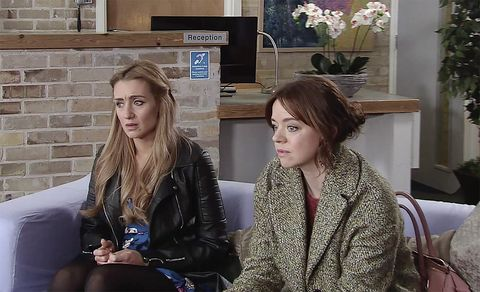 Toyah Battersby urges Eva Price to keep the baby in Coronation Street