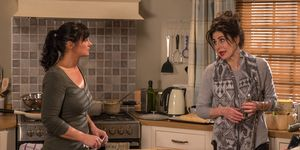 Moira Dingle is losing patience around Faith Dingle in Emmerdale
