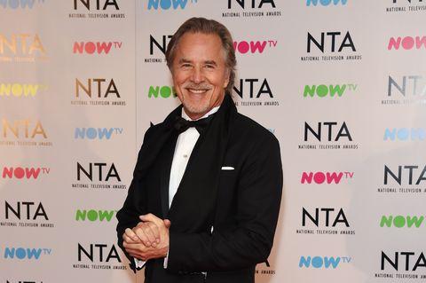 Don Johnson at the 2018 National Television Awards