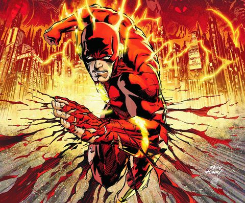 Flashpoint comic the Flash